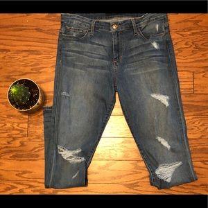 Joe's Jeans in distressed skinny